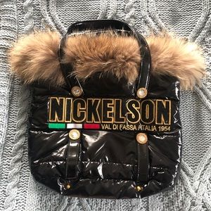 Real fur bag by Nickelson